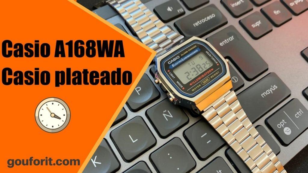 Casio A168WA - Casio plateado - Opinión