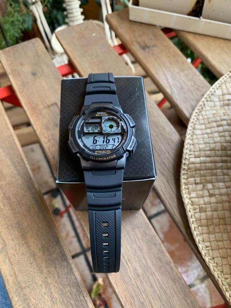 Casio AE-1000W: la alternativa redonda al Casio Royale