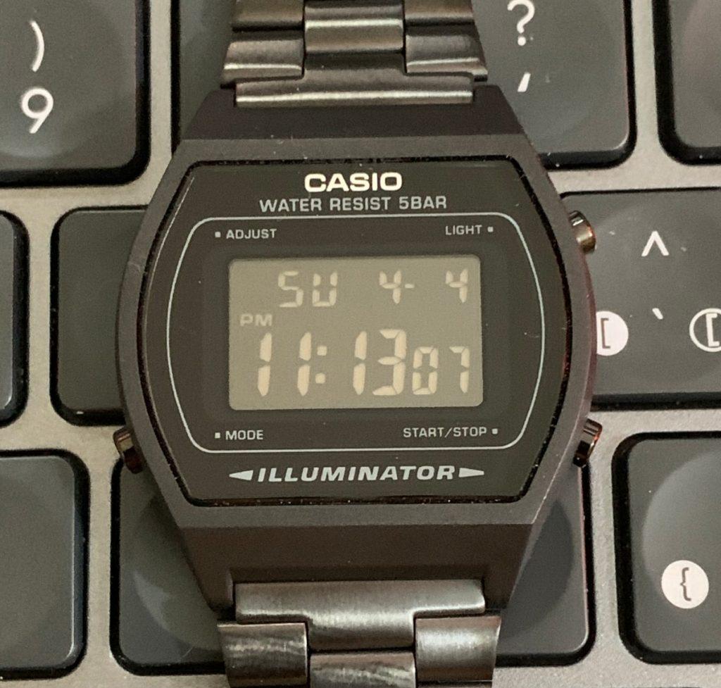 Casio B640WB: funciones