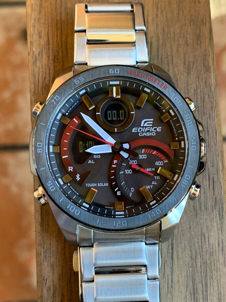 Casio EDIFICE ECB-900DB-1AER: esfera
