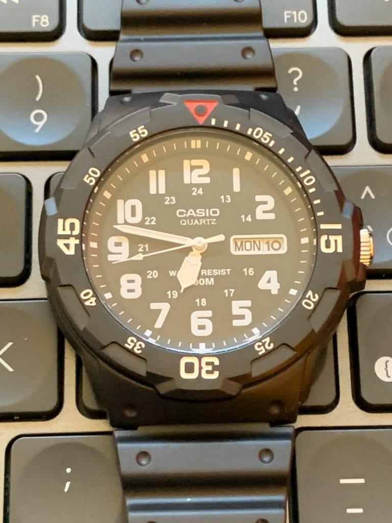 Casio MRW-200H: funciones