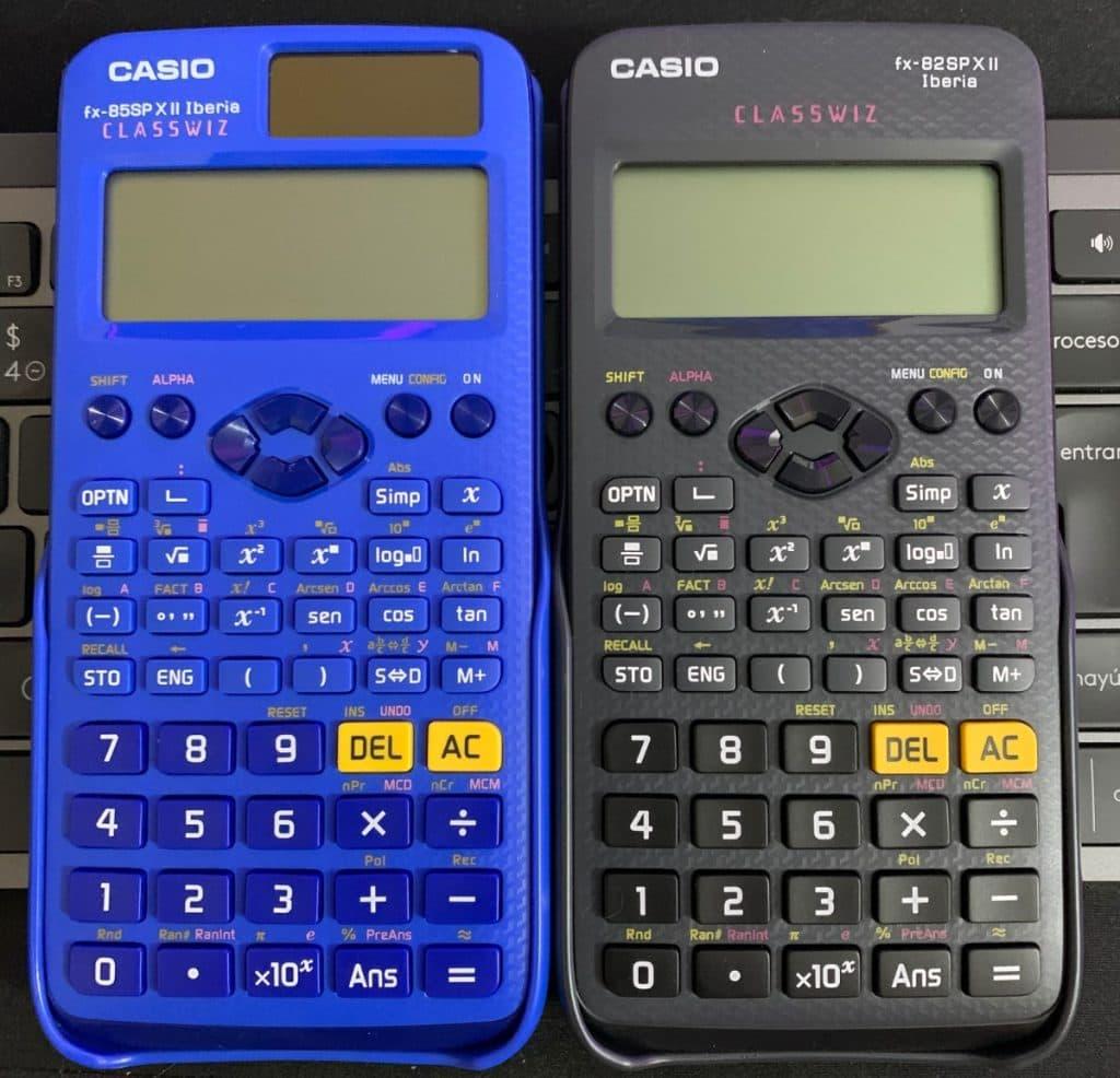 Casio fx-85 SP X II Iberia vs Casio fx-82 SP X II Iberia