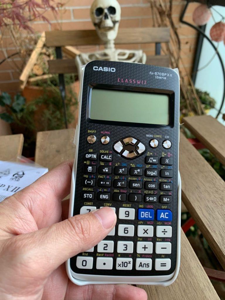 Casio FX-570SPXII- Calculadora científica