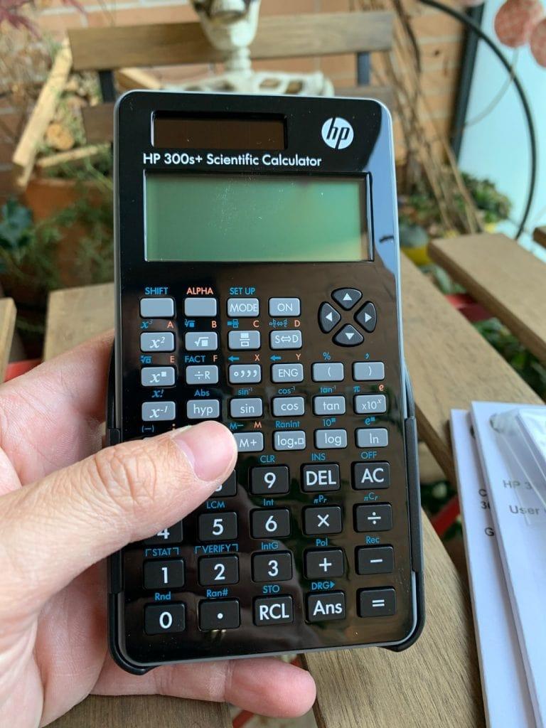 Calculadora científica HP 300s+: características y diseño