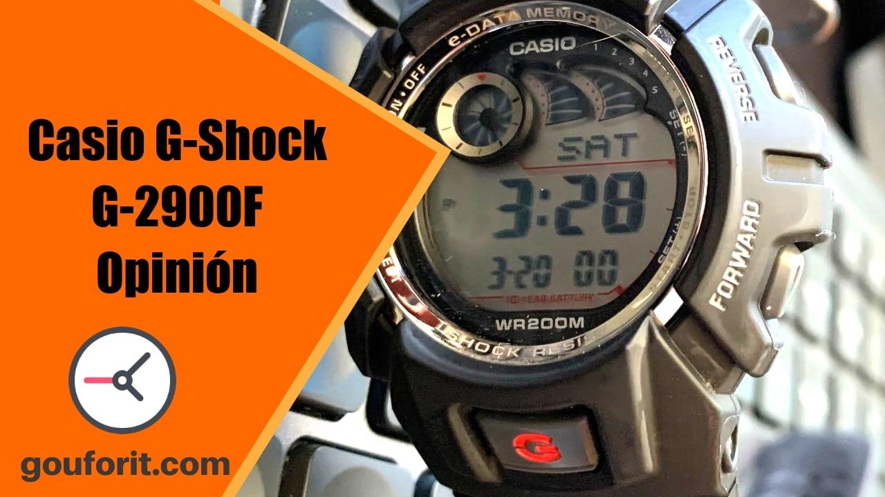 Casio G-Shock G-2900F: barato y con diseño clásico - Opinión