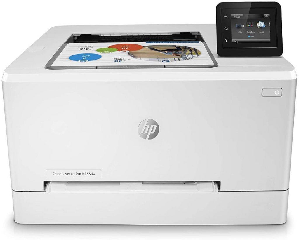 HP Color LaserJet Pro M255dw - Impresora láser color con WIFI para imprimir mucho