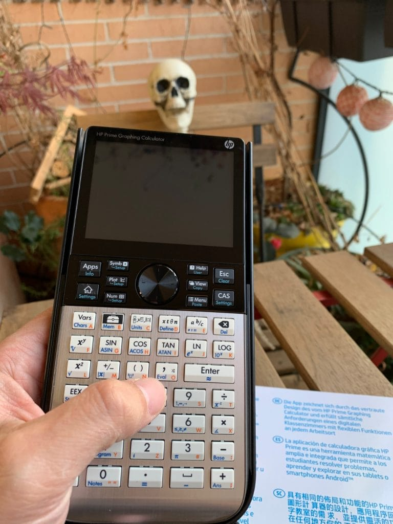 HP Prime Graphing Calculator - Calculadora gráfica