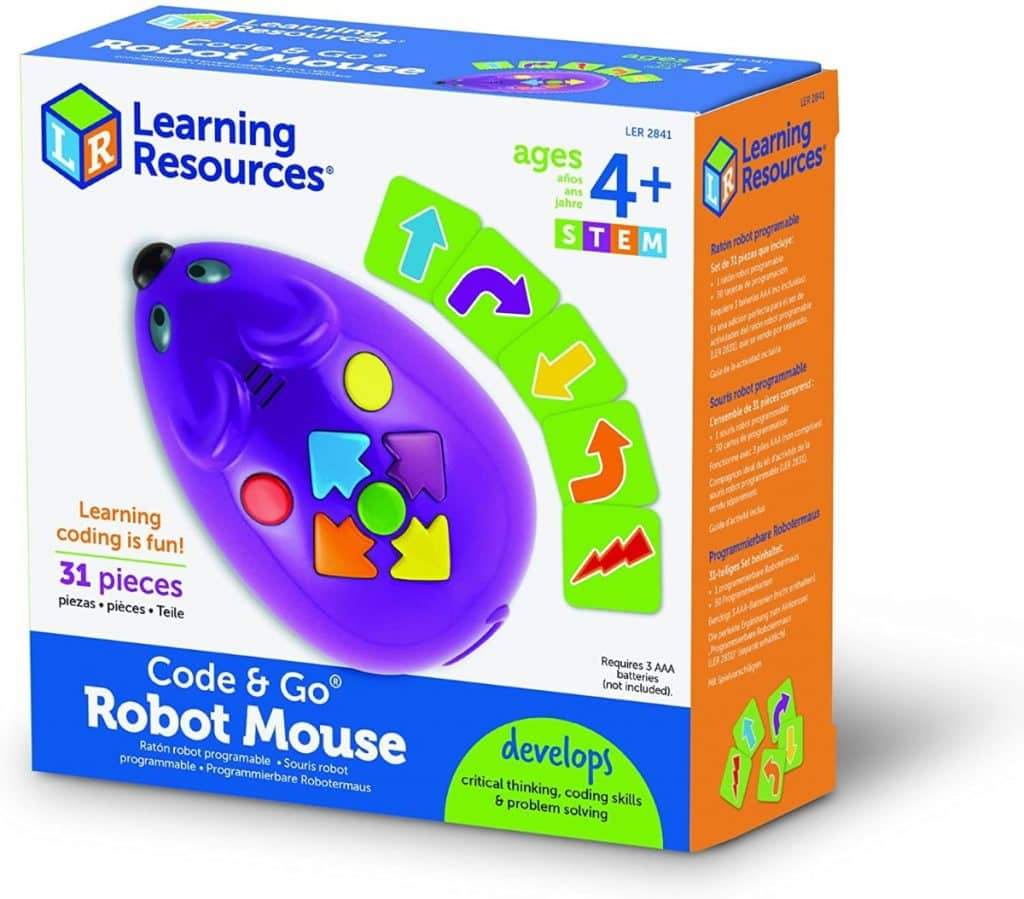 Learning Resources - Raton Robot programable