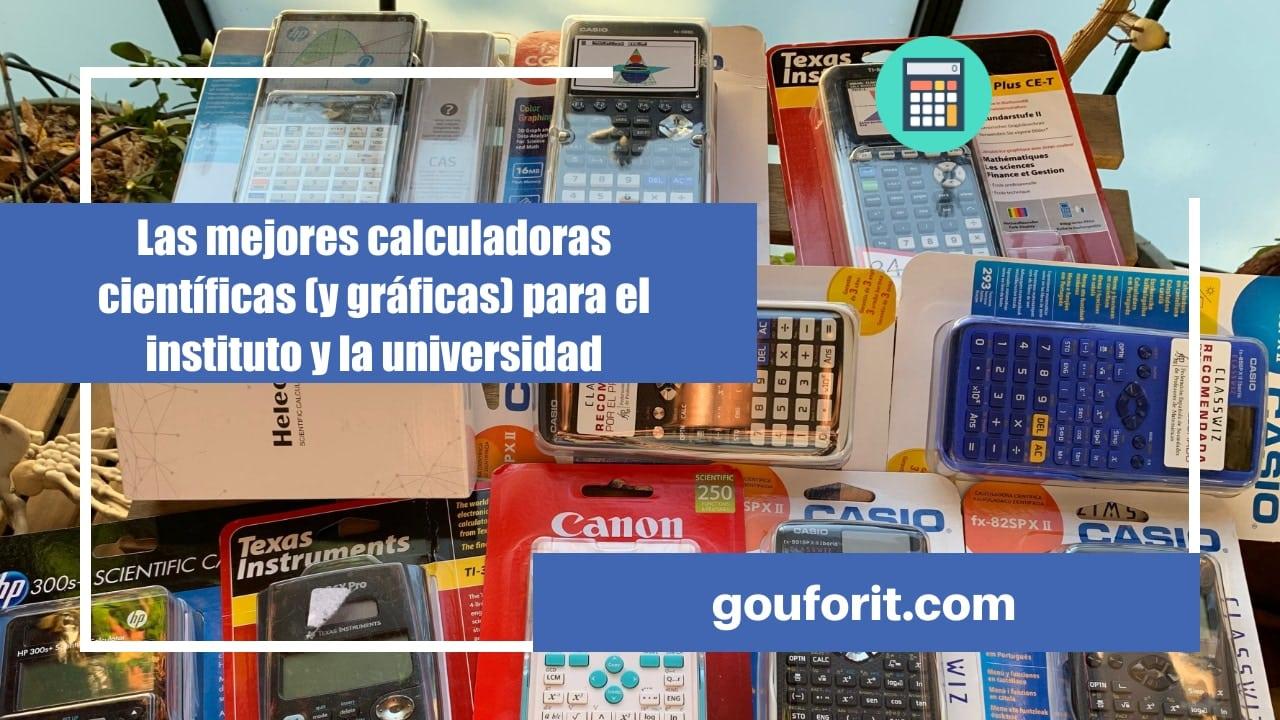 Las mejores calculadoras científicas (y gráficas) para el instituto y la universidad