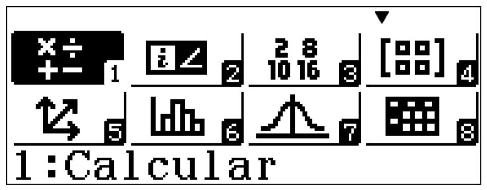 Modos de aplicación calculadora cientifica