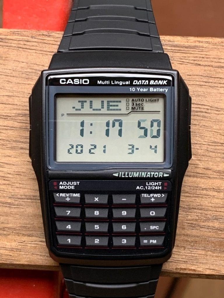 Casio Databank DBC-32: funciones