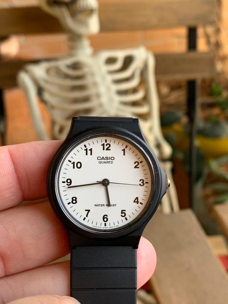 Casio MQ-24-7B: el reloj analógico de Casio más barato