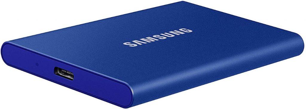 Samsung Portable SSD T7 1000 GB Azul