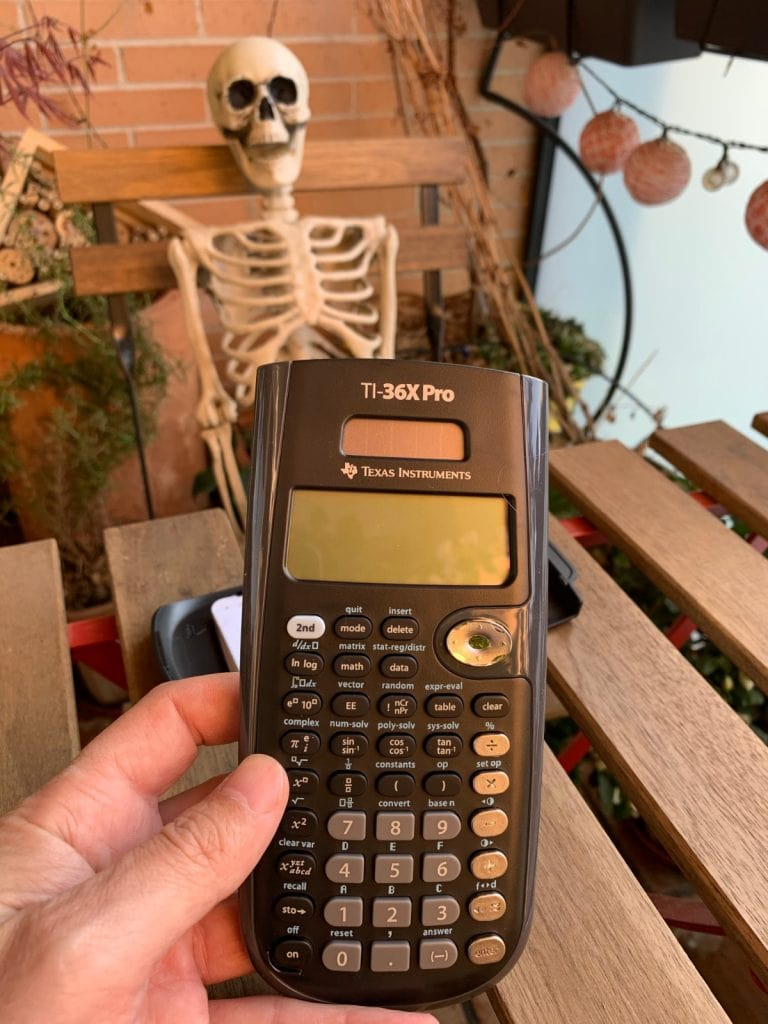 Texas Instruments TI 36 X PRO - Calculadora científica