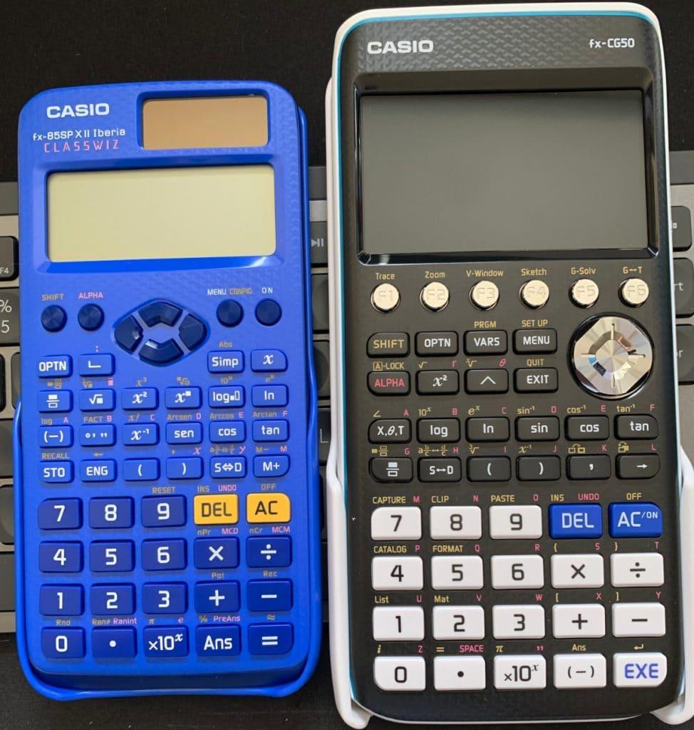 Calculadora científica vs Calculadora gráfica
