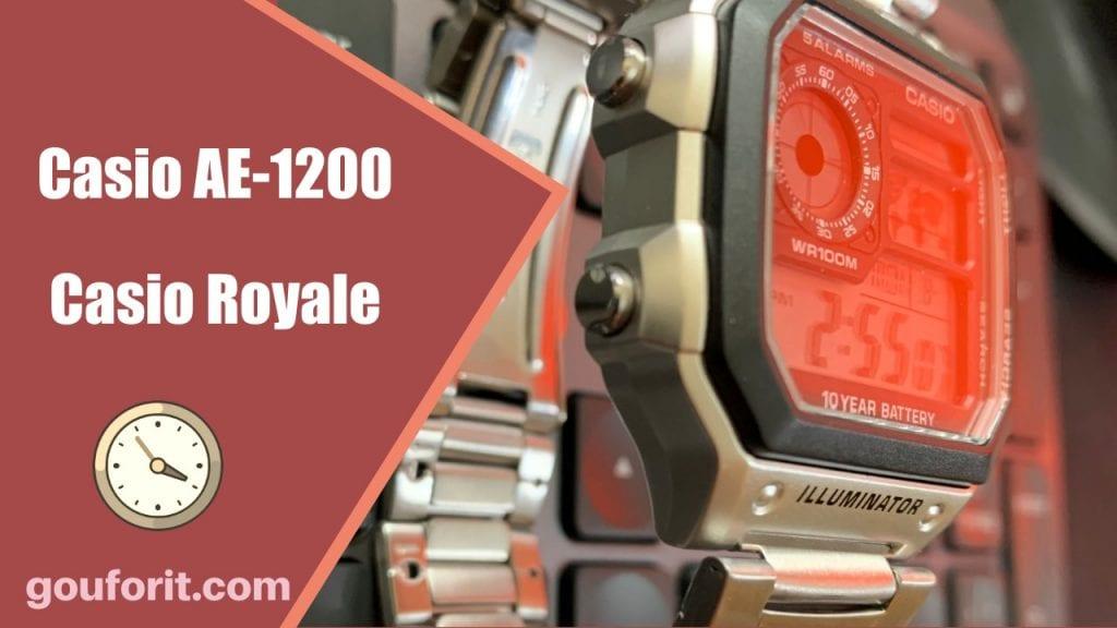 """Casio AE-1200 - """"Casio Royale"""" - Opinión y review"""