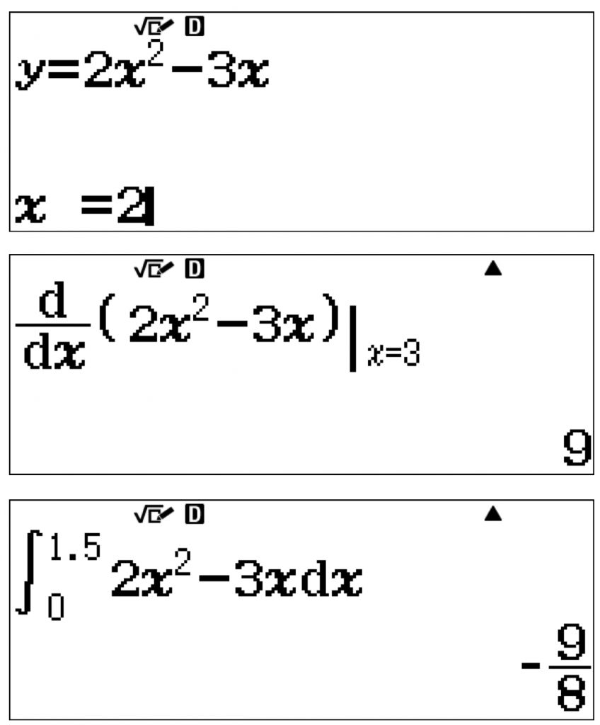 Derivadas e integrales calculadora cientifica