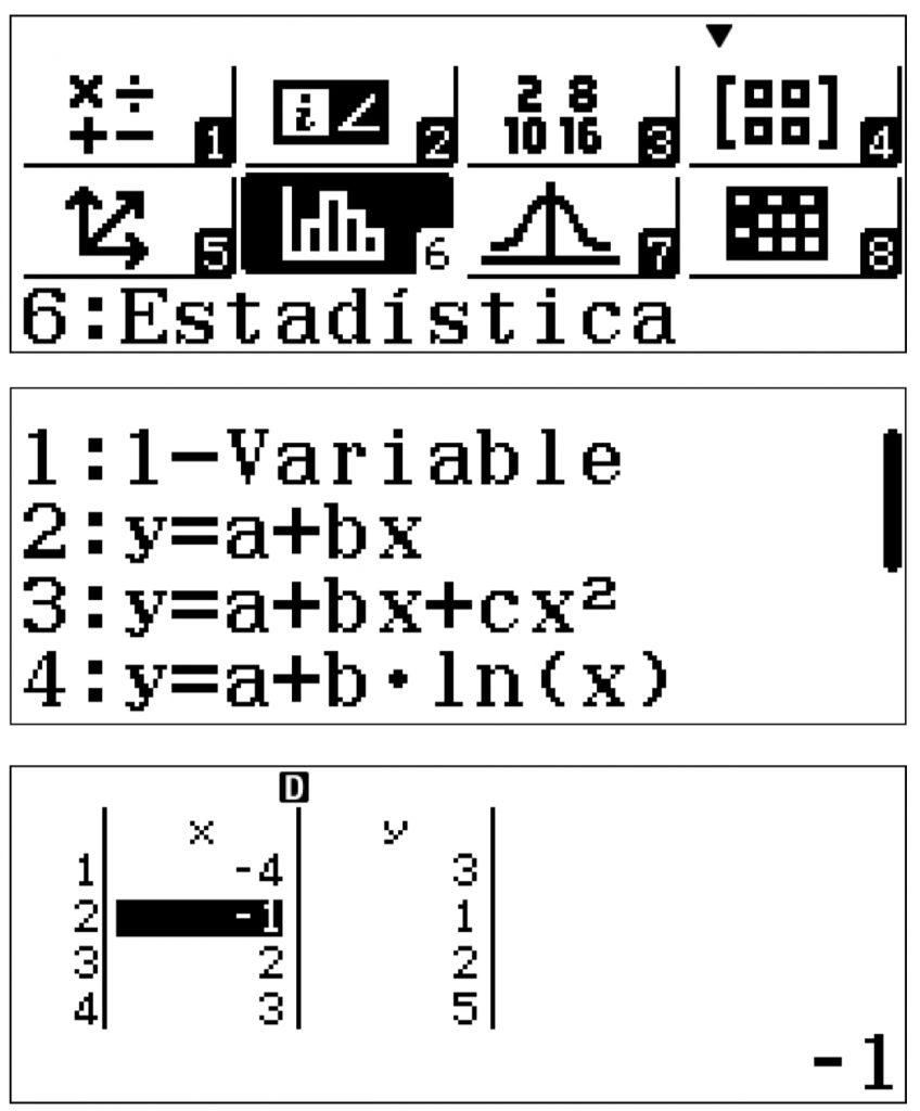estadistica calculadora