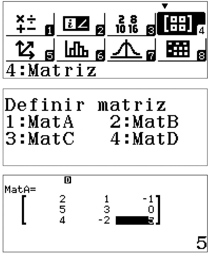 matrices calculadora