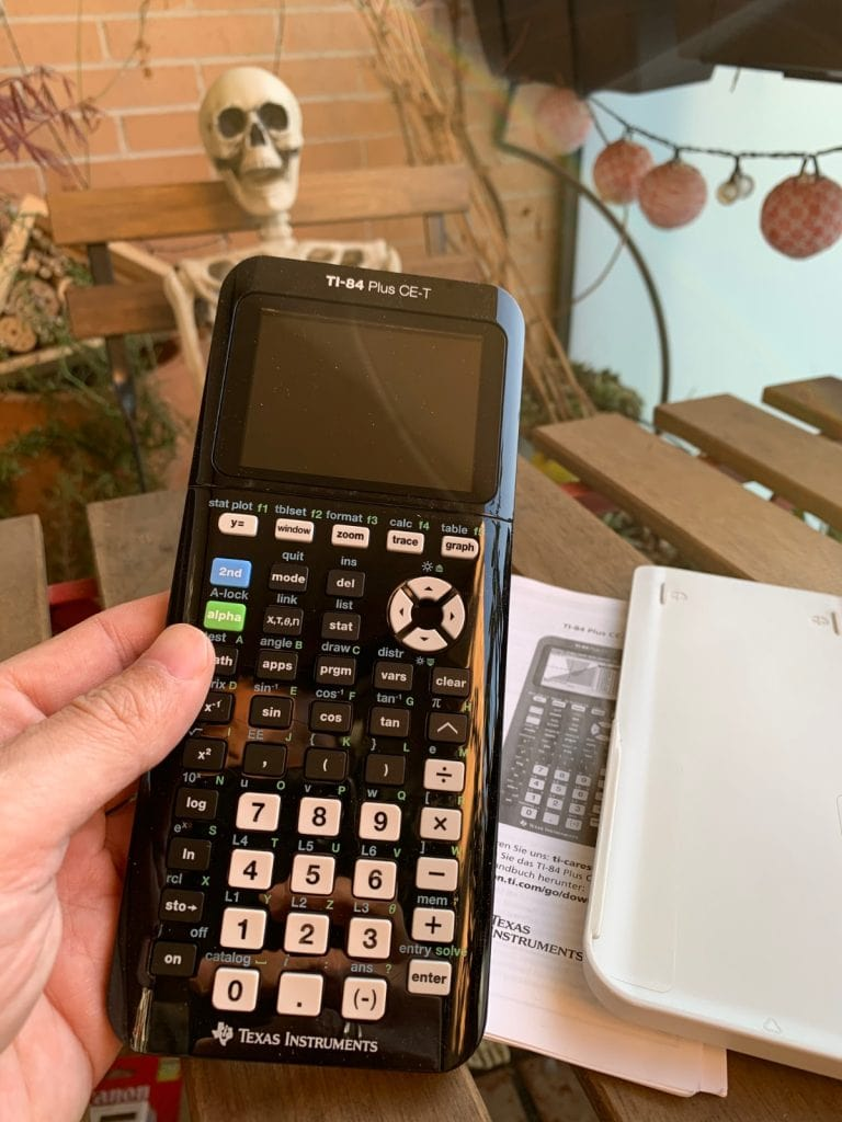 Texas Instruments TI-84 Plus CE-T - Calculadora gráfica