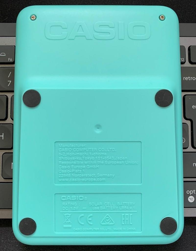Calculadora de sobremesa Casio MS-20UC