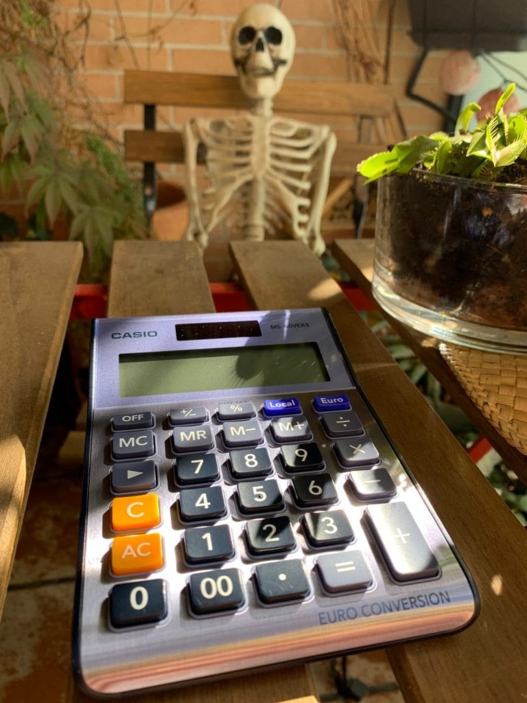 Calculadora de sobremesa Casio MS-80VERII