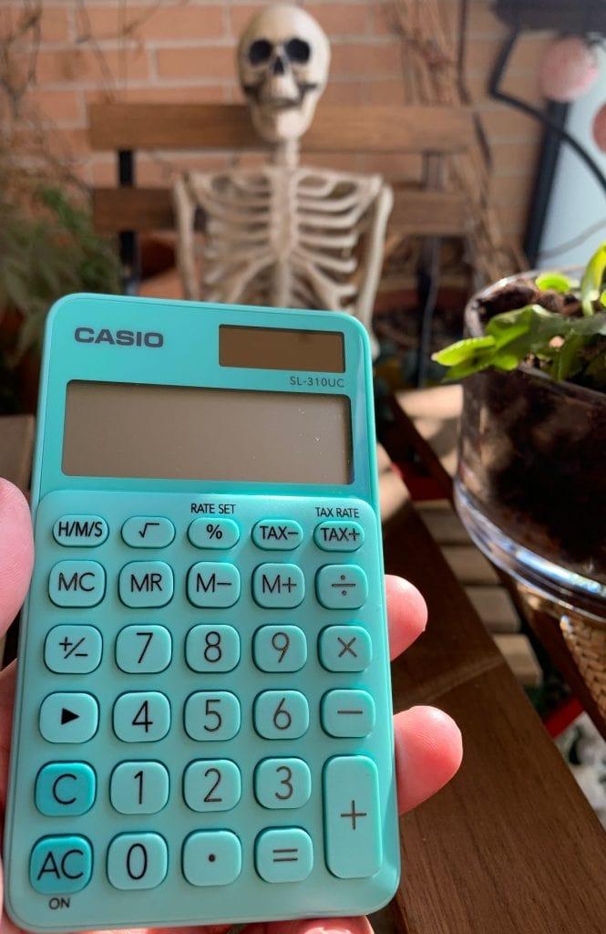 Casio SL-310UC - Calculadora de bolsillo
