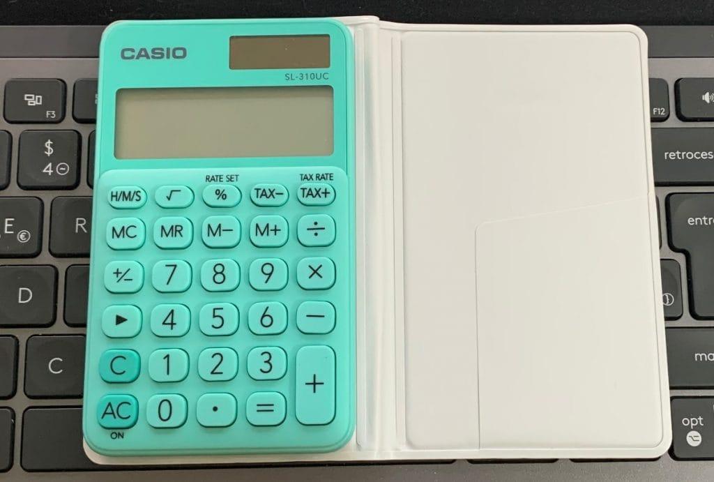 Casio SL-310UC: funciones