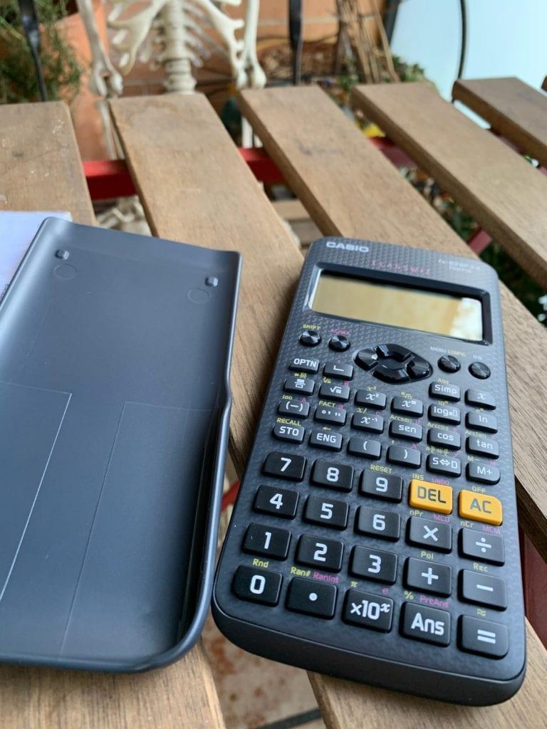 Casio fx-82 SP X II Iberia: calculadora cientifica - Tapa