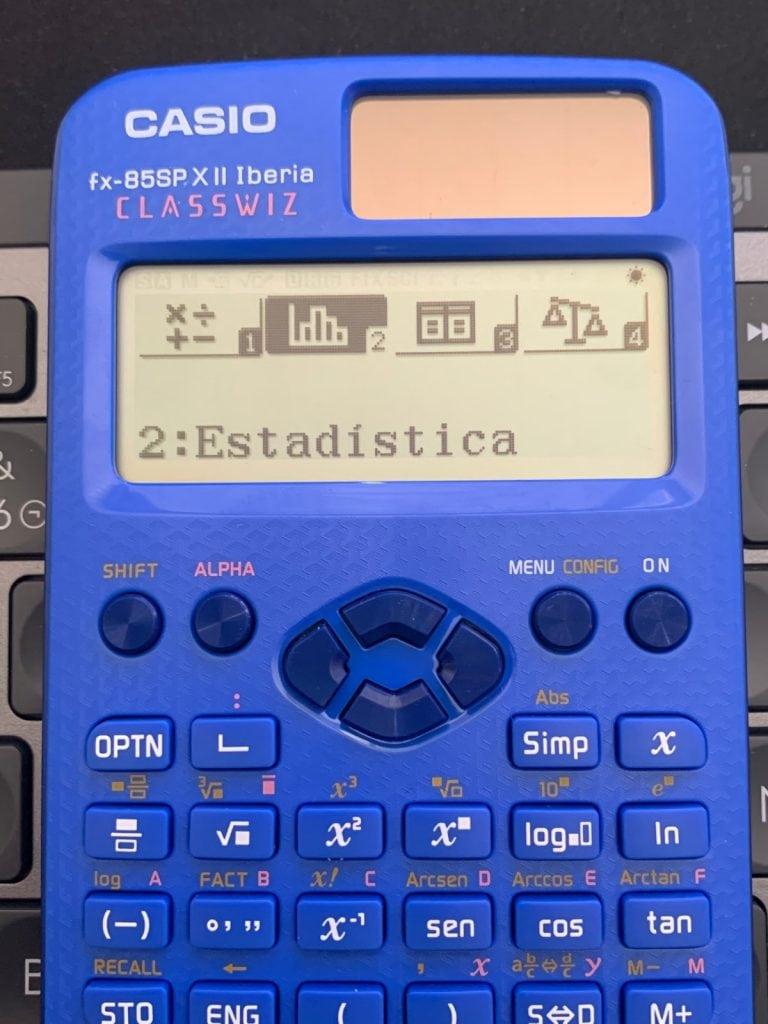 Funciones y uso de ambas calculadoras científicas: Casio fx-82 y fx-85 SP X II Iberia