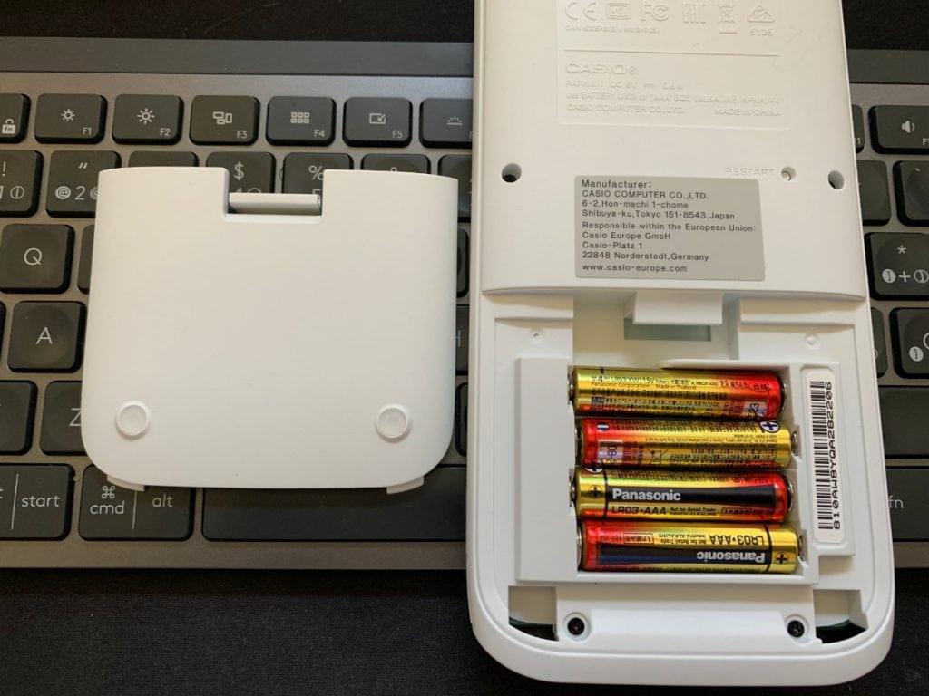 Casio FX-CG50 - Calculadora gráfica: diseño