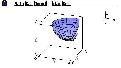 Casio FX-CG50 - Calculadora gráfica: gráficos 3D