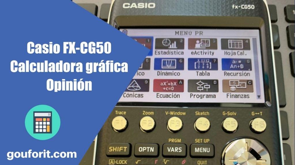 Casio FX-CG50 - Calculadora gráfica - Opinión