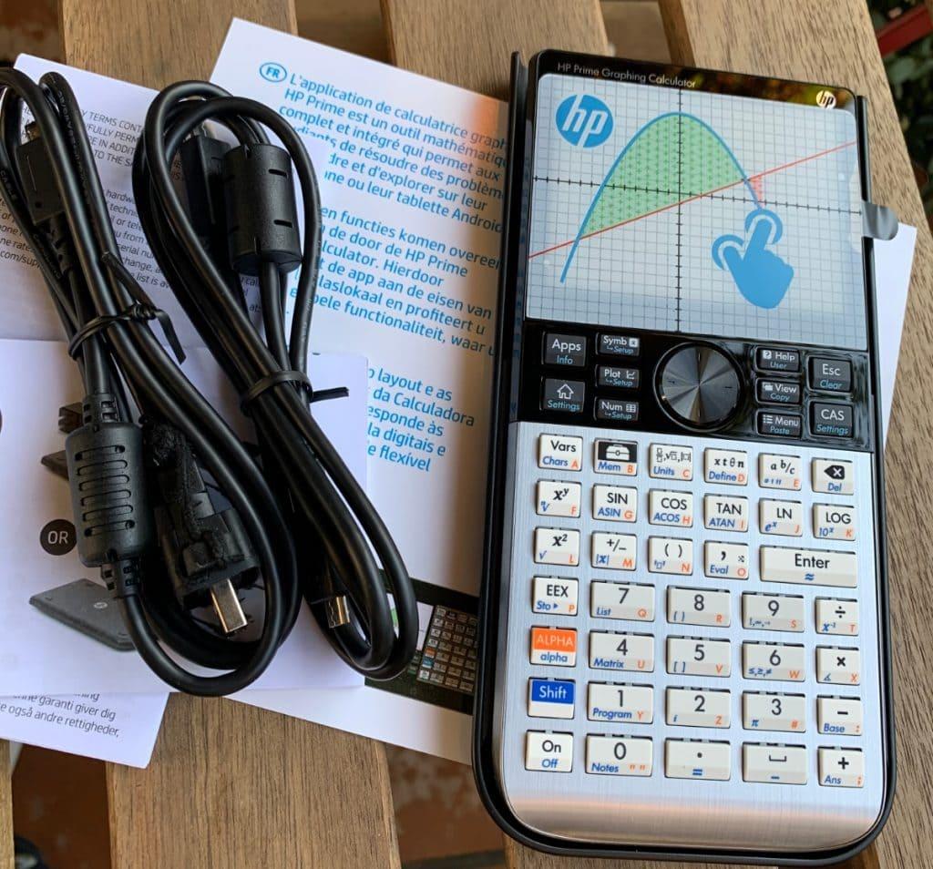 HP Prime Graphing Calculator - Calculadora gráfica con sistema CAS