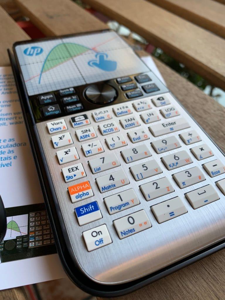 HP Prime Graphing Calculator - Calculadora gráfica con sistema CAS: características y diseño