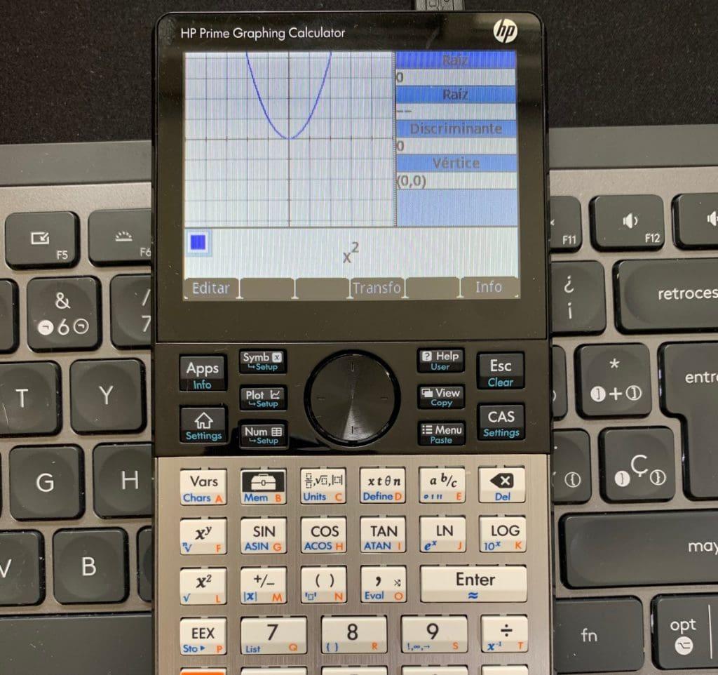 HP Prime Graphing Calculator: solucionador trigonométrico