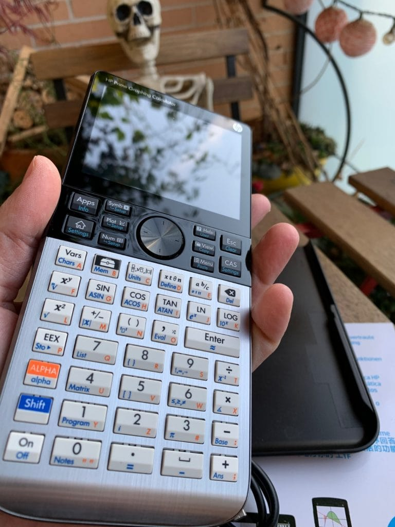 HP Prime Graphing Calculator: frontal