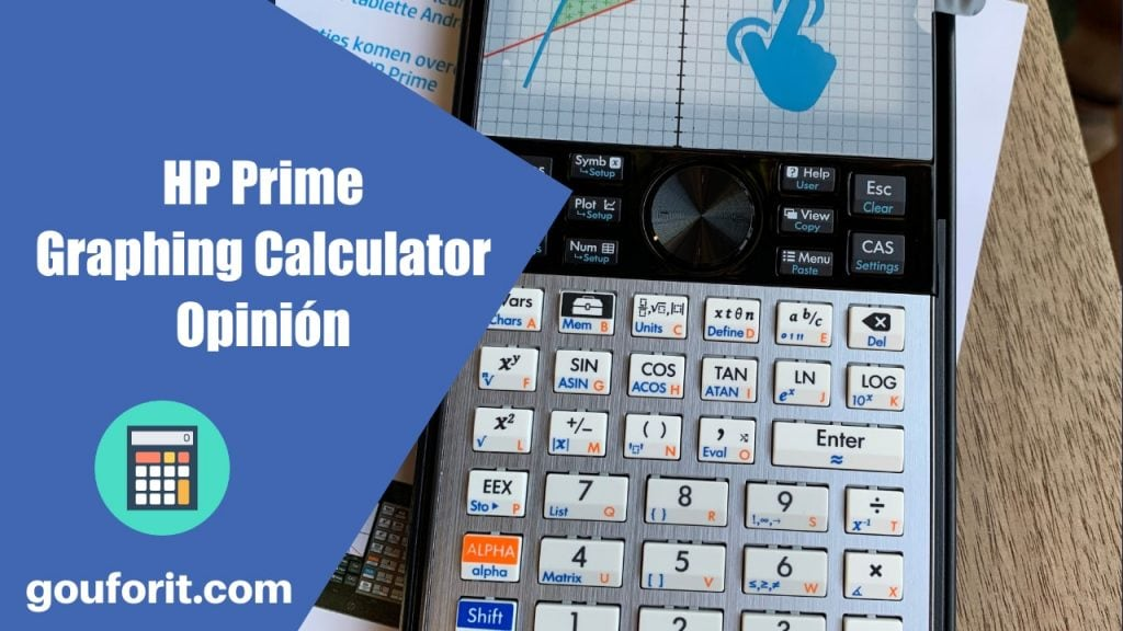 HP Prime Graphing Calculator - Opinión (Calculadora gráfica con sistema CAS)
