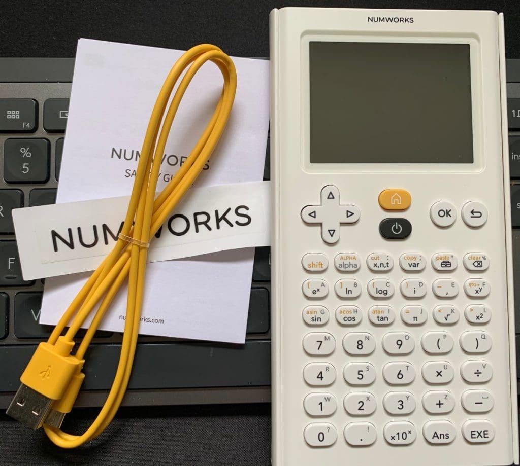NumWorks Calculadora Gráfica: diseño y características