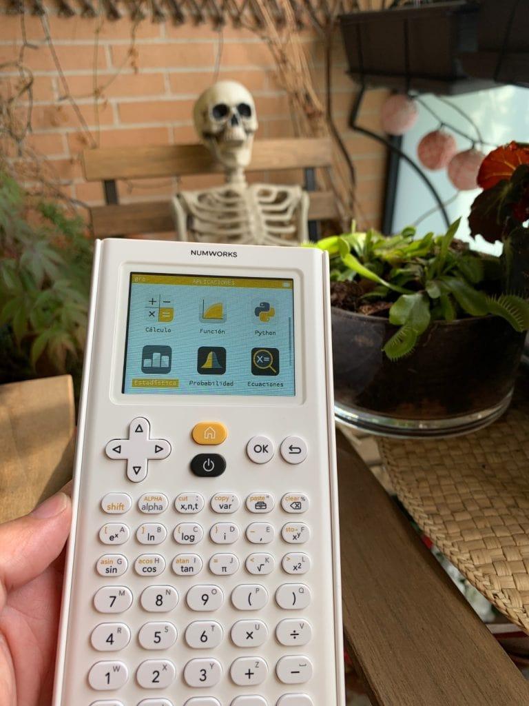 NumWorks Calculadora Gráfica: pantalla y teclado