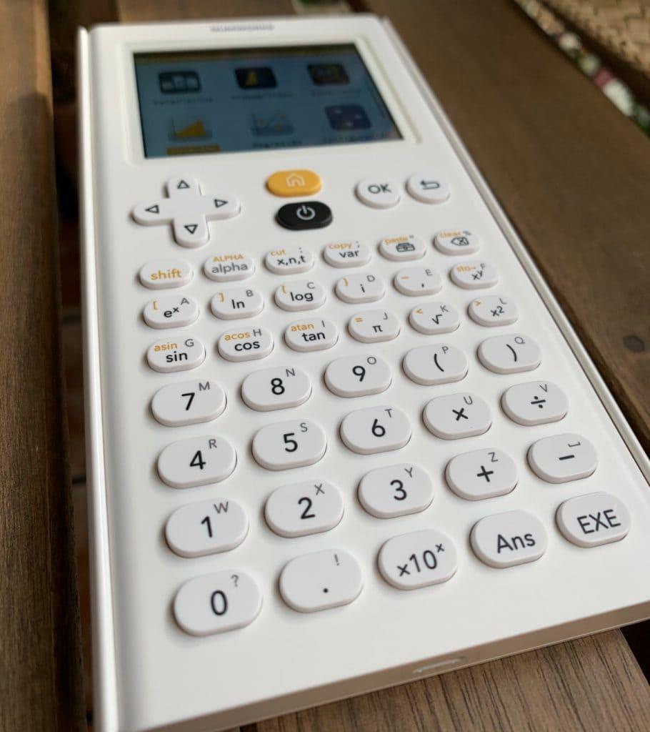 NumWorks Calculadora Gráfica: teclado