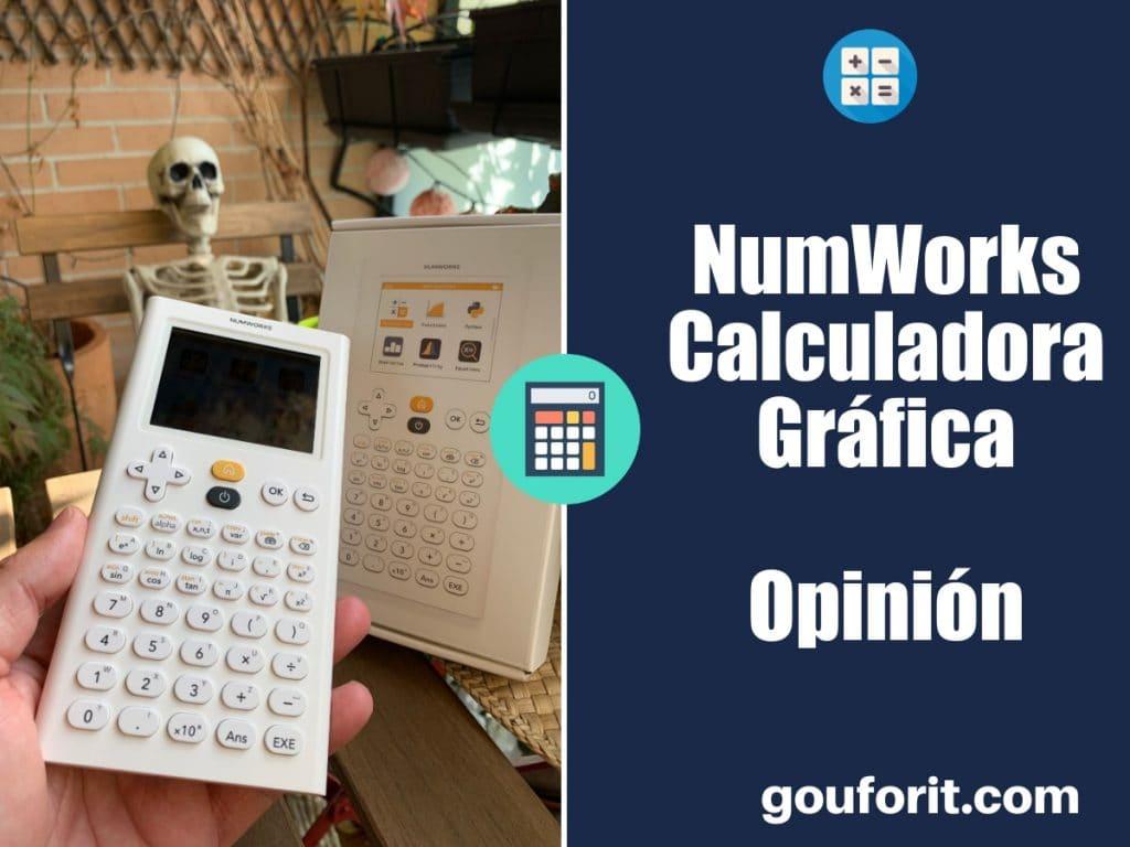 NumWorks Calculadora Gráfica - Opinión y análisis