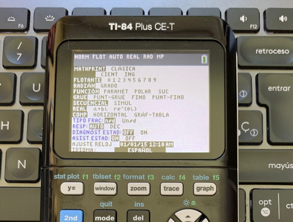Texas Instruments TI-84 Plus CE-T: funciones