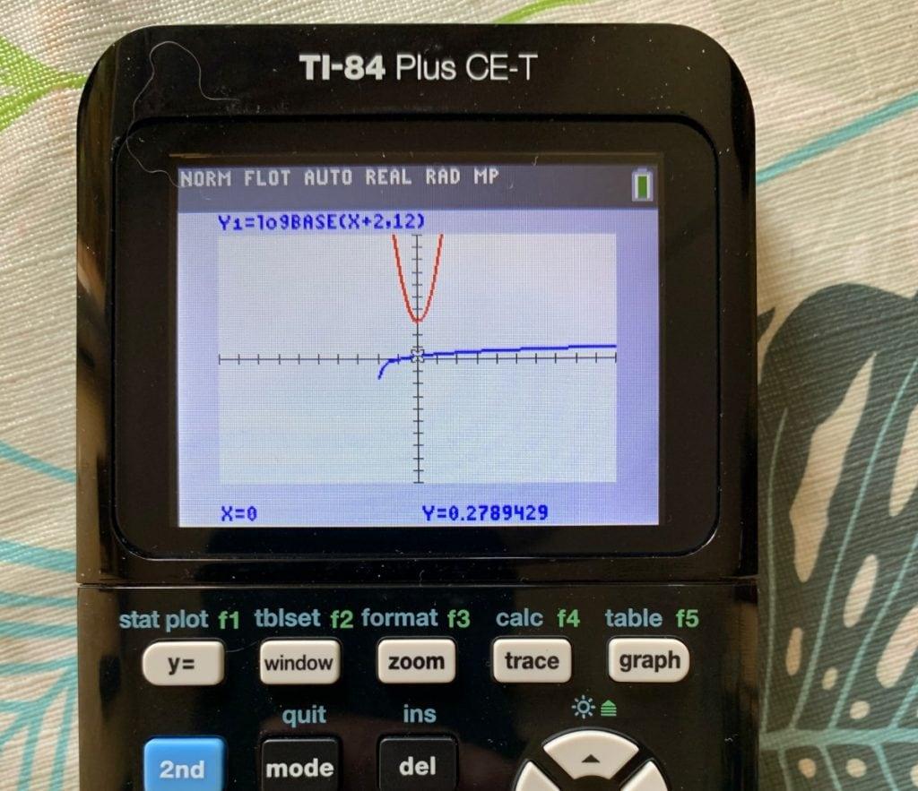 Texas Instruments TI-84 Plus CE-T: representación de funciones