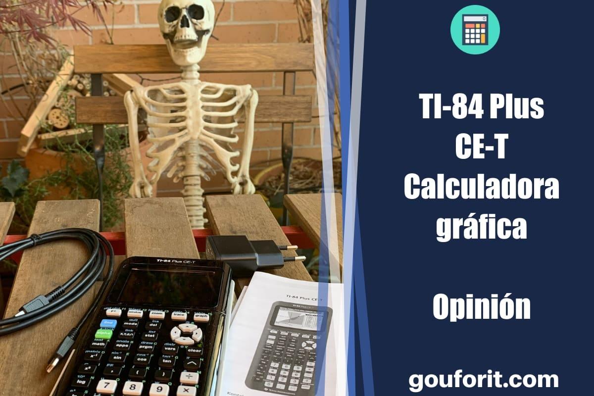 Texas Instruments TI-84 Plus CE-T - Opinión (Calculadora gráfica)