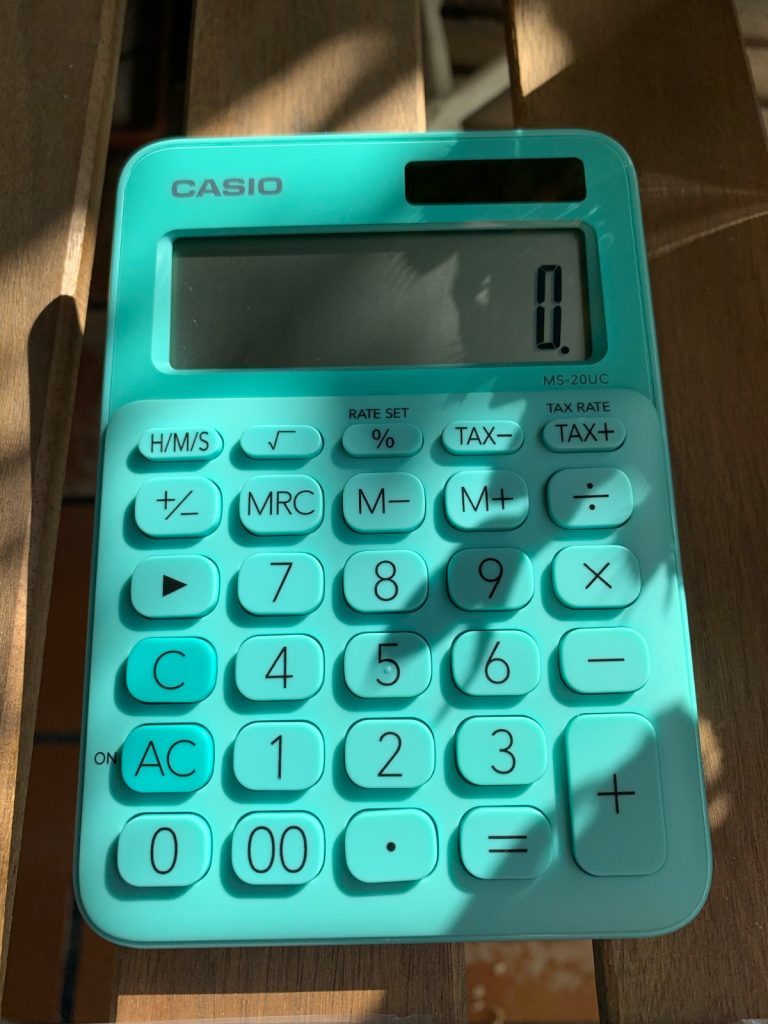 Calculadora sobremesa Casio MS-20UC