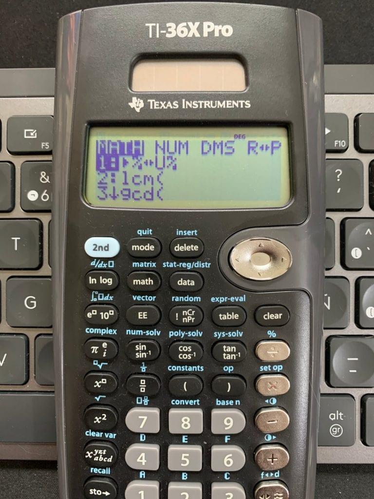 Calculadora científica Texas Instruments TI-36X Pro: funciones