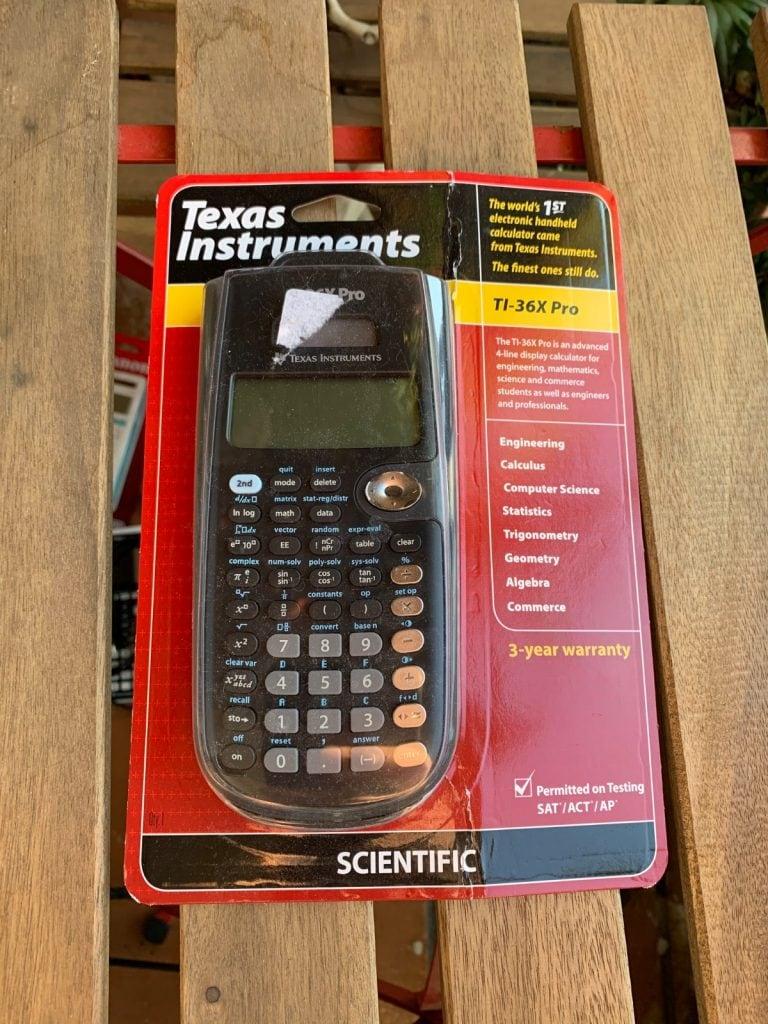 Calculadora científica Texas Instruments TI-36X Pro