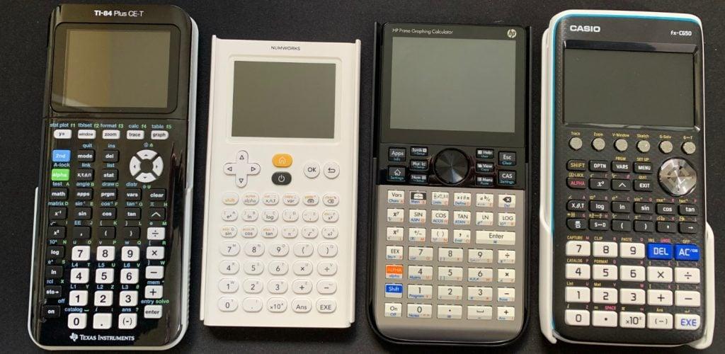 TI-84 Plus CE-T. vs NumWorks vs HP Prime vs Casio fx-CG50