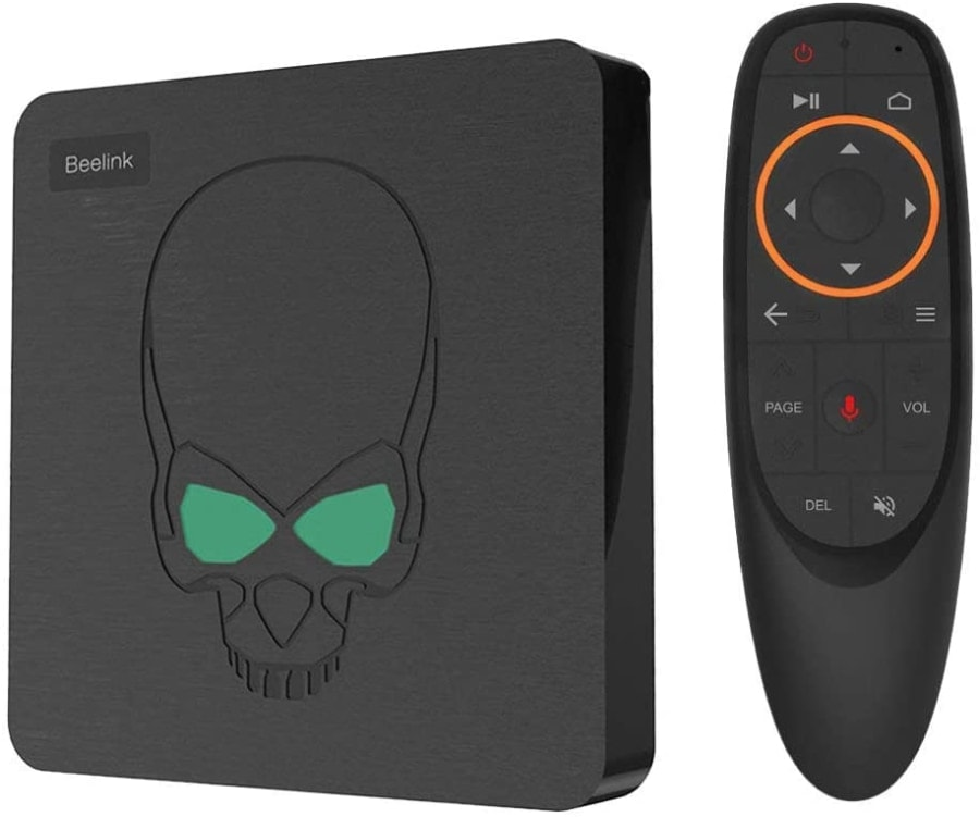 DroiX Bee-link GT King TV Box con Android 9.0 y 4K